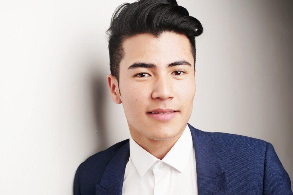 Model Corporate Portrait Businessman Handsome